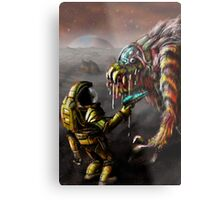 The Blunderbeast and the Spaceman Metal Print