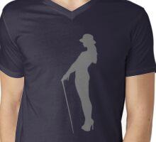 Attitude - grey Mens V-Neck T-Shirt
