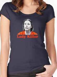 Aileen Wuornos Women's Fitted Scoop T-Shirt