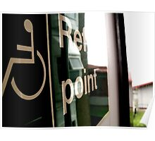 reflection point Poster