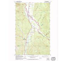 USGS Topo Map Washington State WA Acme 239727 1980 24000 Photographic Print