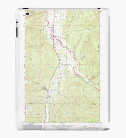 USGS Topo Map Washington State WA Acme 239727 1980 24000 iPad Case/Skin