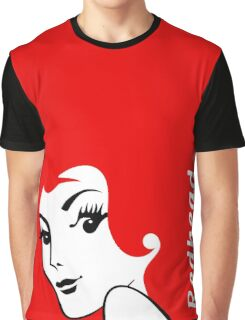 Miss Redhead (text) [iPhone / iPad / iPod case | Tshirt | Print] Graphic T-Shirt
