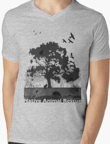 Support Native Animal Rescue Mens V-Neck T-Shirt