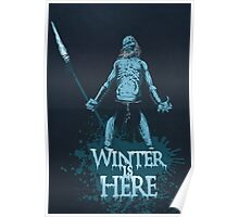 Winter is Here Poster