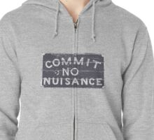 Commit No Nuisance Zipped Hoodie