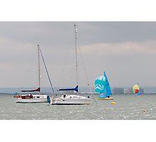 Boats at Thorpe Bay Photographic Print