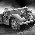 Fire Captain's Truck - 1935 Dodge by flyrod