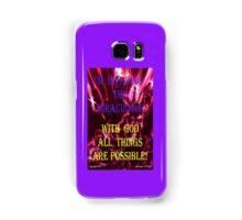 INVADING THE MIRACULOUS! Samsung Galaxy Case/Skin