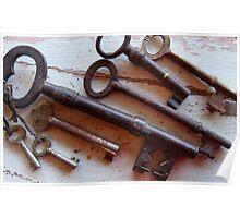 18/365  keys Poster