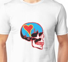 Skull_15 is part of a series on Love Never Dies... Unisex T-Shirt