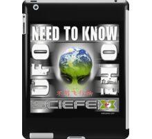 need to know iPad Case/Skin