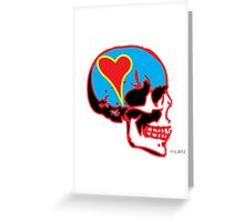 Skull_15 is part of a series on Love Never Dies... Greeting Card