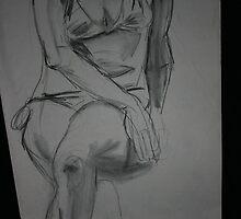 Girl in Bathing Suit by kmazzei
