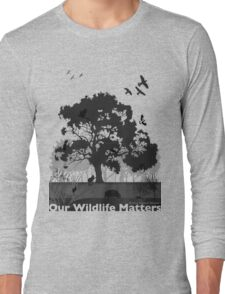 Our Wildlife Matters - Support Native Animal Rescue Long Sleeve T-Shirt
