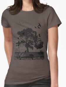 Our Wildlife Matters - Support Native Animal Rescue Womens Fitted T-Shirt