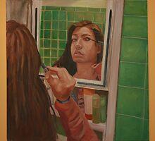 Self Portrait by kmazzei