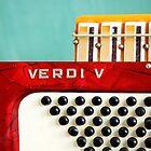 Red Verdi V by Diane  Kramer