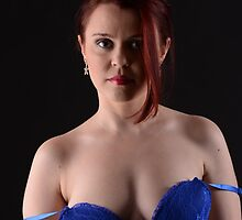 Blue Negligee by ChrisBrody