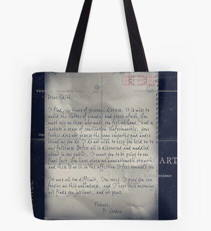 Dear Edith Crawley Tote Bag