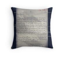 Dear Edith Crawley Throw Pillow