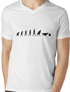 99 Steps of Progress - Marketing Mens V-Neck T-Shirt