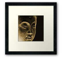 Dan ART EAST Spiritual Buddha Siddhartha Sculpture Framed Print