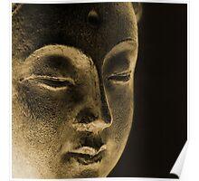 Dan ART EAST Spiritual Buddha Siddhartha Sculpture Poster