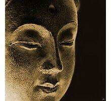 Dan ART EAST Spiritual Buddha Siddhartha Sculpture Photographic Print