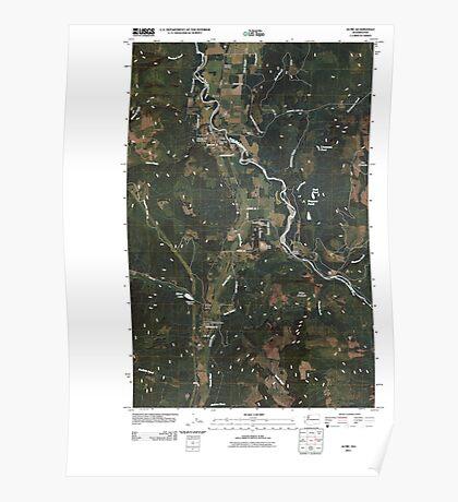 USGS Topo Map Washington State WA Acme 20110418 TM Poster