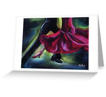 Strictly Dancing Greeting Card