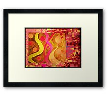 Tuning In On You Framed Print
