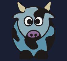 ღ°㋡Cute Baby Blue Cow Clothing & Stickers㋡ღ° Kids Clothes