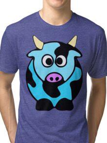 ღ°㋡Cute Baby Blue Cow Clothing & Stickers㋡ღ° Tri-blend T-Shirt