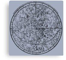 Vintage Astronomy Chart. Canvas Print