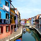 Colourful Burano by Federica Gentile