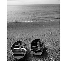 Chesil Boats Photographic Print