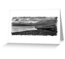Chesil Boat 2 Greeting Card