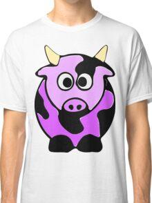 ღ°㋡Cute Lavender Colored Cow Clothing & Stickers㋡ღ° Classic T-Shirt