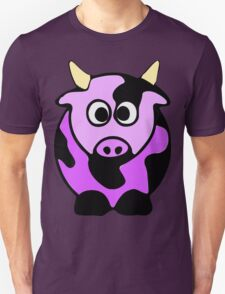 ღ°㋡Cute Lavender Colored Cow Clothing & Stickers㋡ღ° T-Shirt