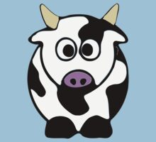 ღ°㋡Cute Brindled Cow Clothing & Stickers㋡ღ° Baby Tee
