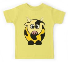 ღ°㋡Cute Brindled Golden Cow Clothing & Stickers㋡ღ° Kids Tee