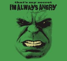 Me Angry! by adamcampen