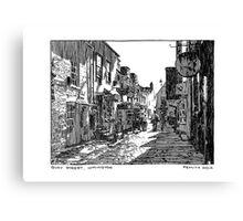Quay Street, Lymington Canvas Print
