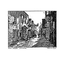 Quay Street, Lymington Photographic Print
