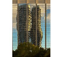 Marilyn Monroe Towers Reflected Photographic Print