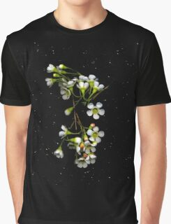 Chamelaucium uncinatum (Geraldton Wax). Flower scan. Graphic T-Shirt