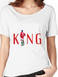 Eric Cantona: The King Women's Relaxed Fit T-Shirt