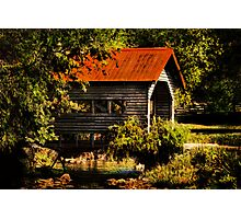 Charming Country Bridge Photographic Print
