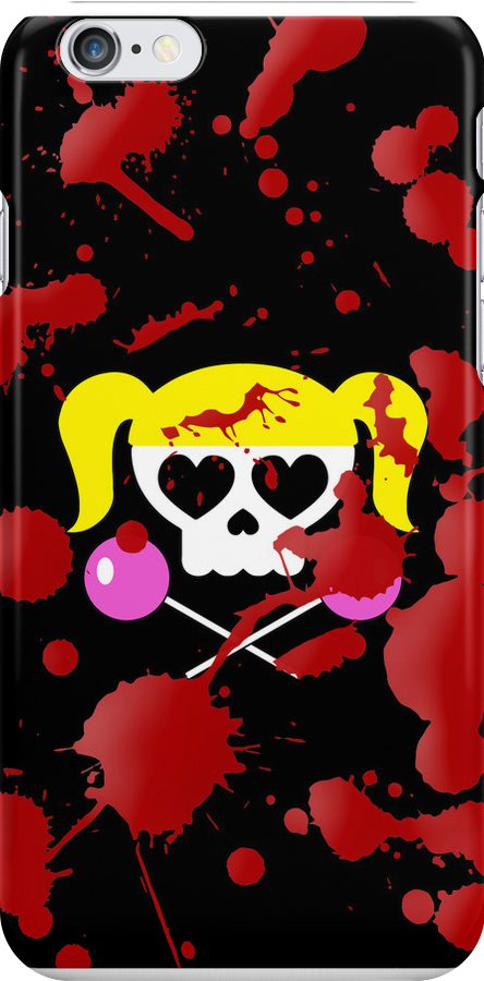 Lollipop Chainsaw She Skull by gorillamask